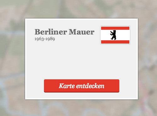 Berliner Mauer - Map Interfaces