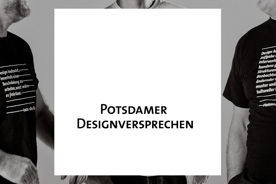 Potsdamer Designversprechen