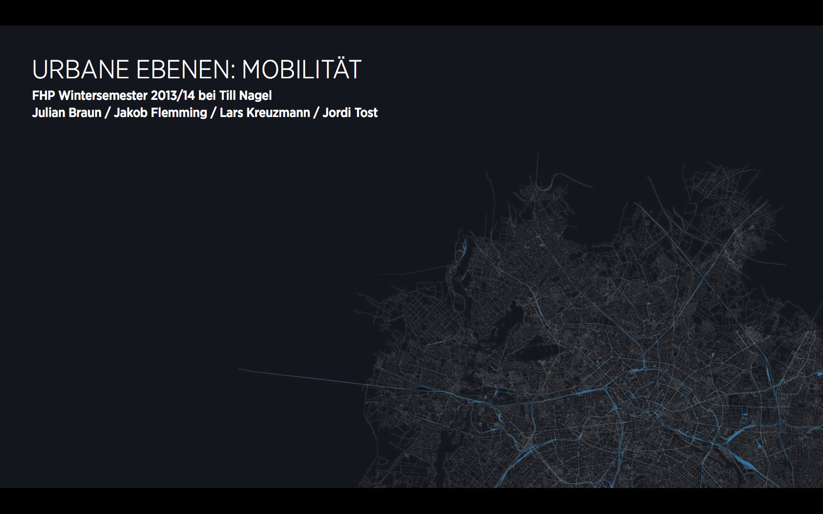 CAB RIDES: Visualizing Taxi Trips in Berlin