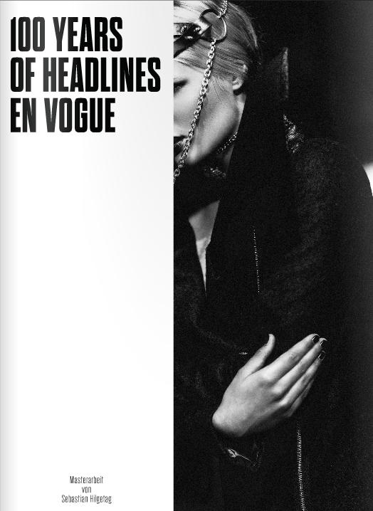 100 YEARS OF HEADLINES EN VOGUE