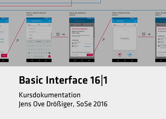 Basic Interface 16|1