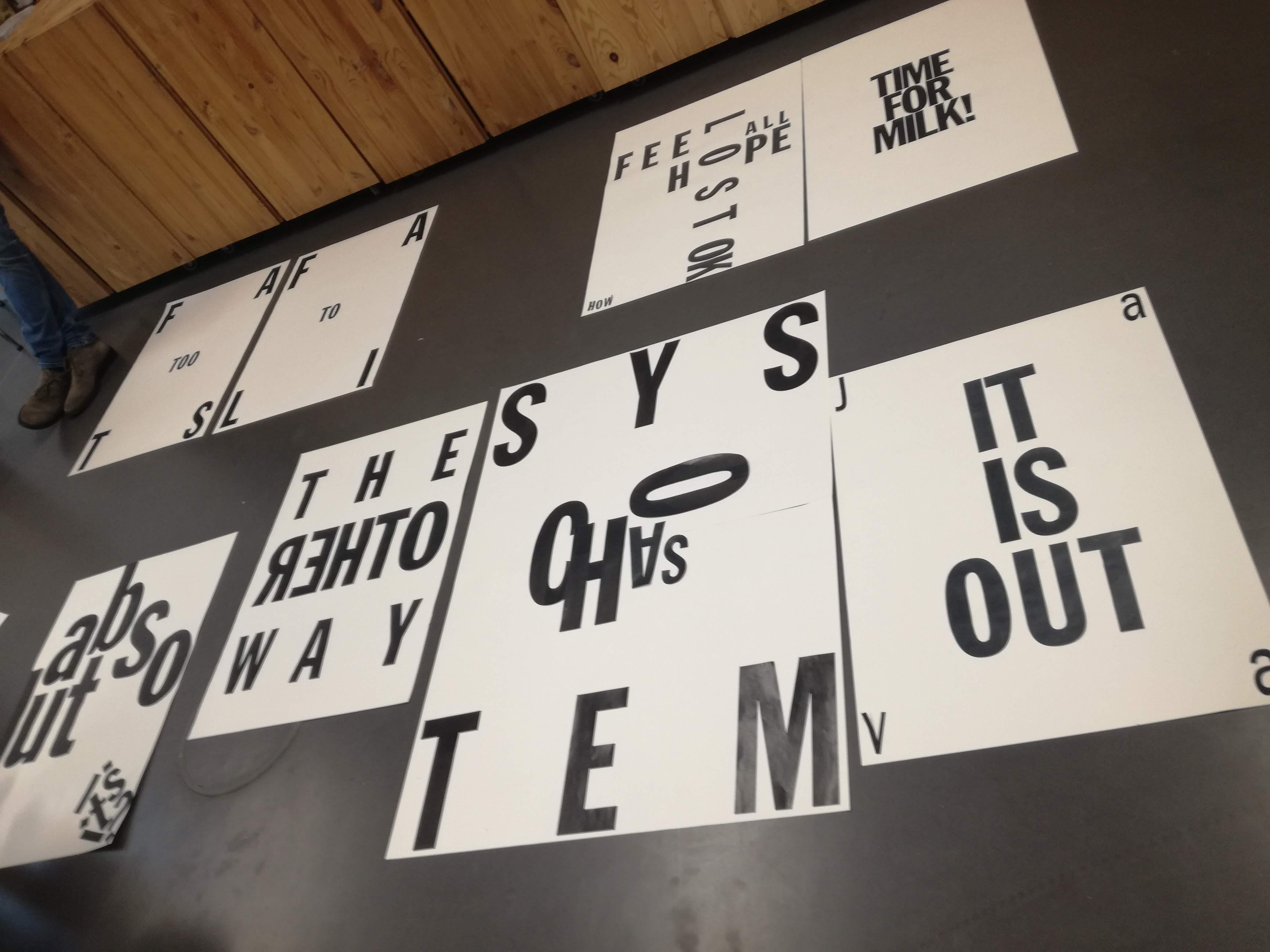 Experimentelle Typografie
