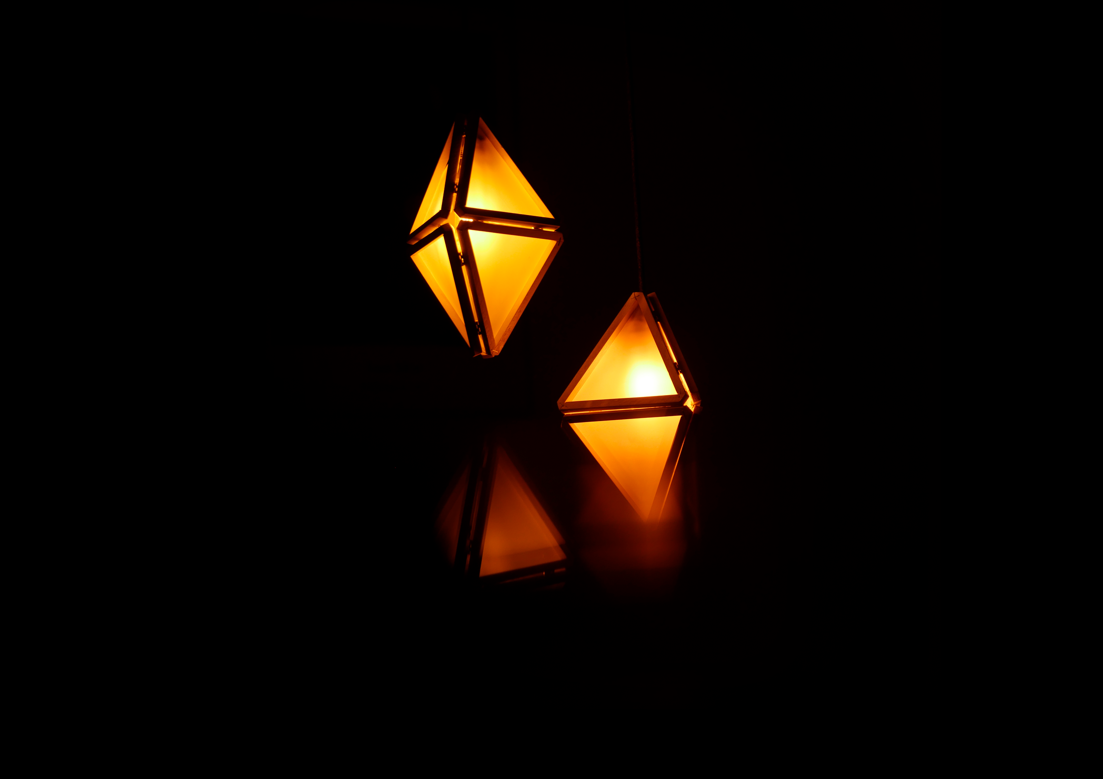White Cube: Lotus Lights