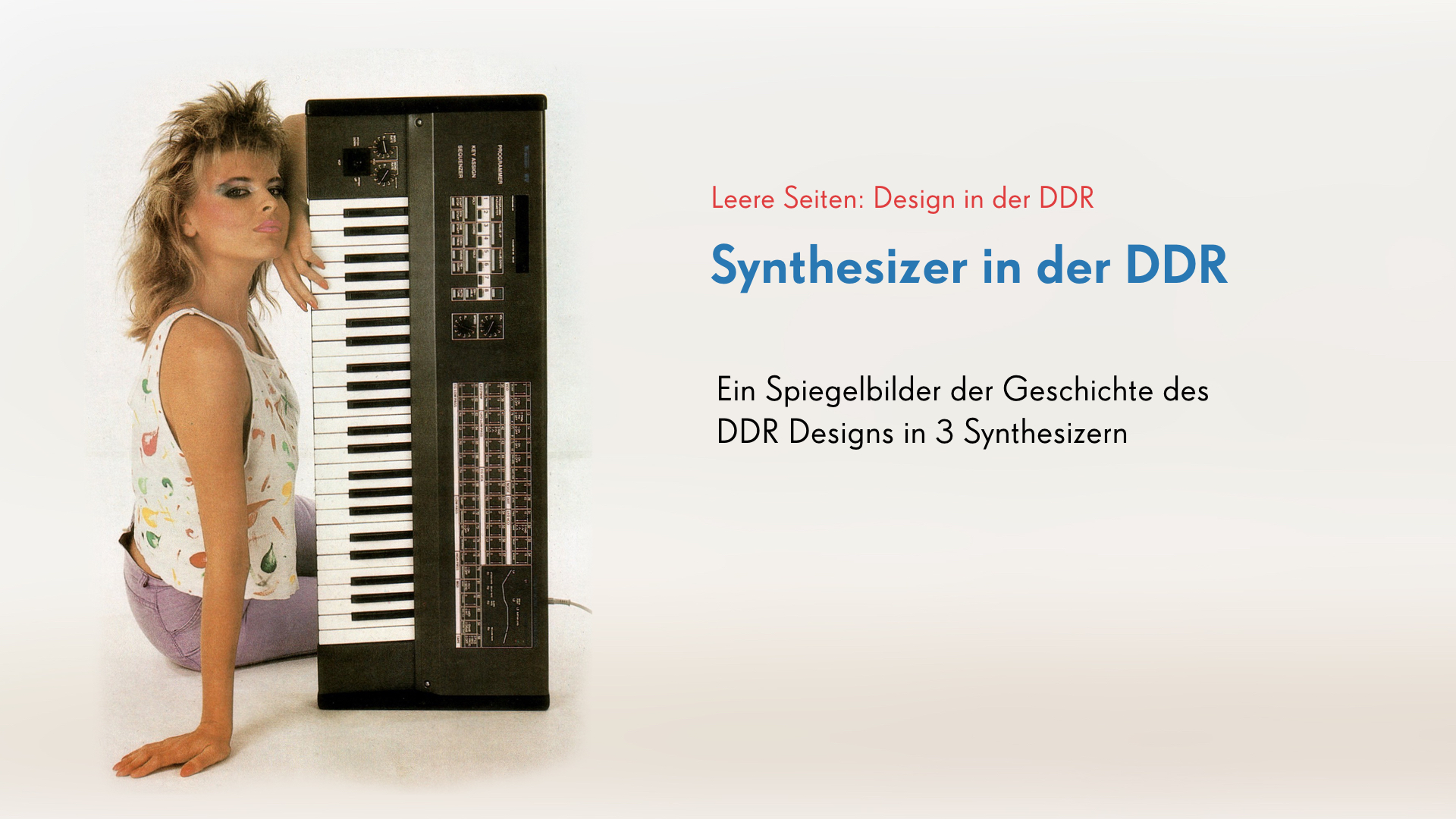 Synthesizer in der DDR