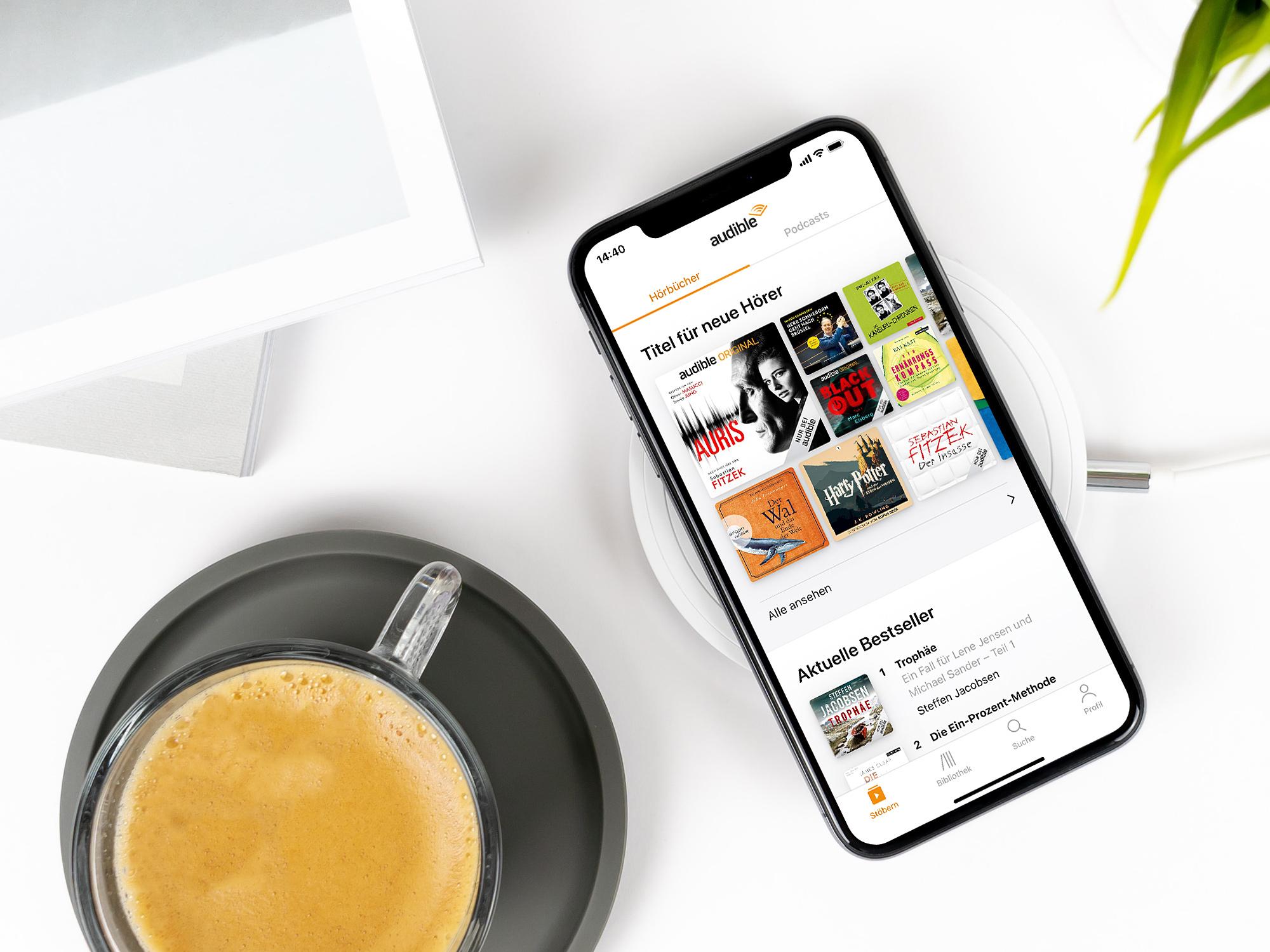 Audible für iOS – ein Redesign