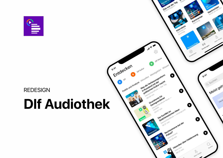 Dlf Audiothek App Redesign