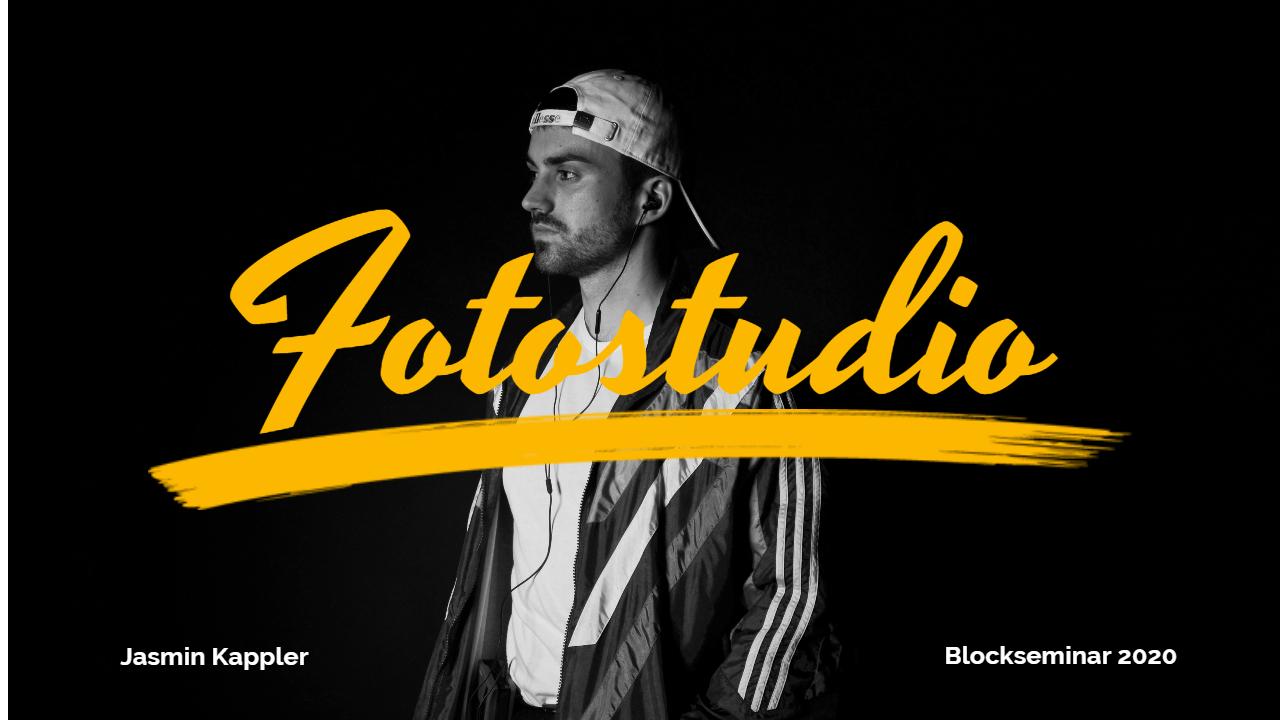 Fotostudio Blockkurs SS20