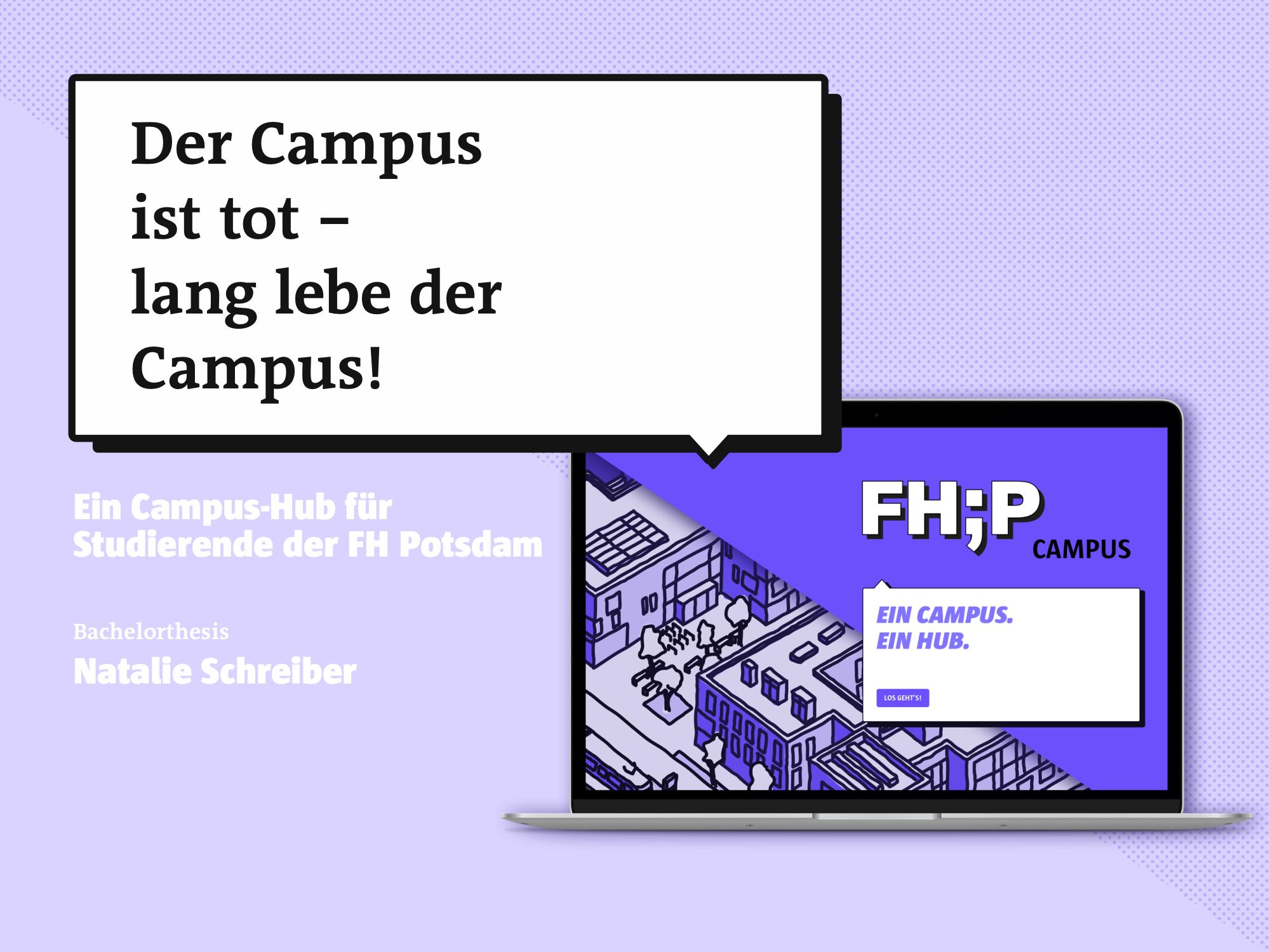Campus-Hub für Studierende der FH Potsdam