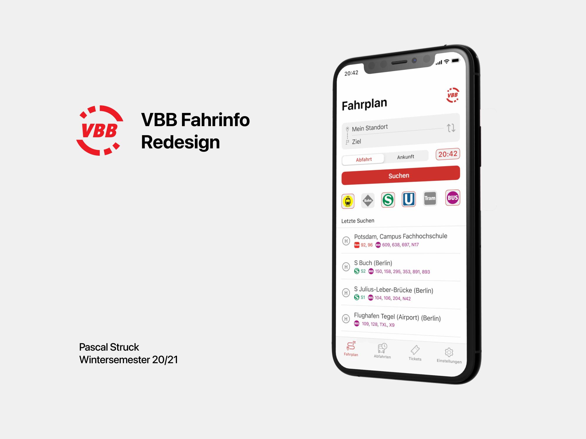 VBB Fahrinfo-Redesign