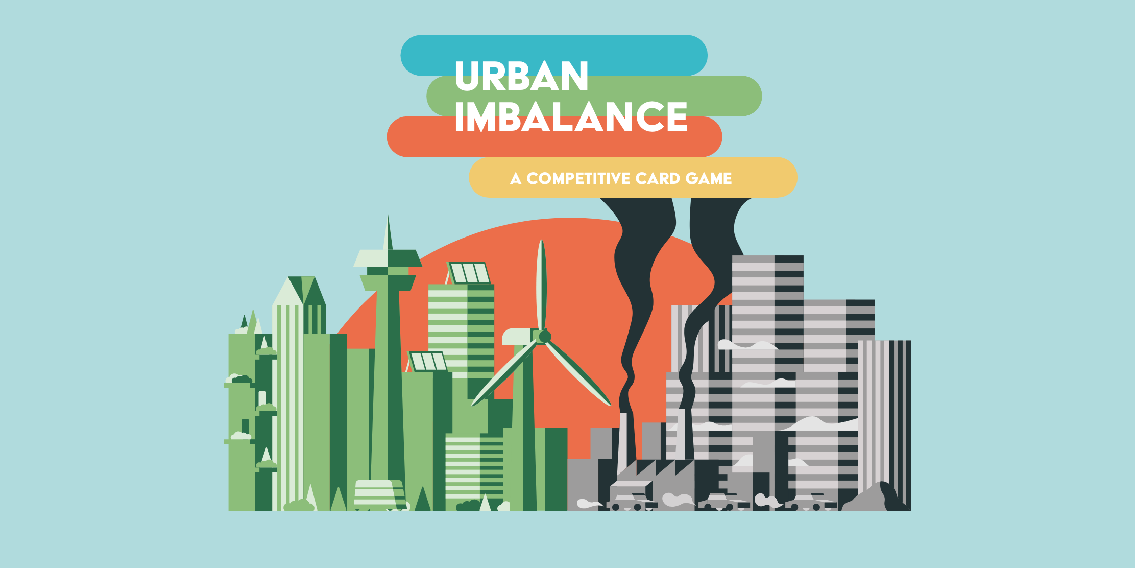 Urban Imbalance, ein kompetitives Kartenspiel