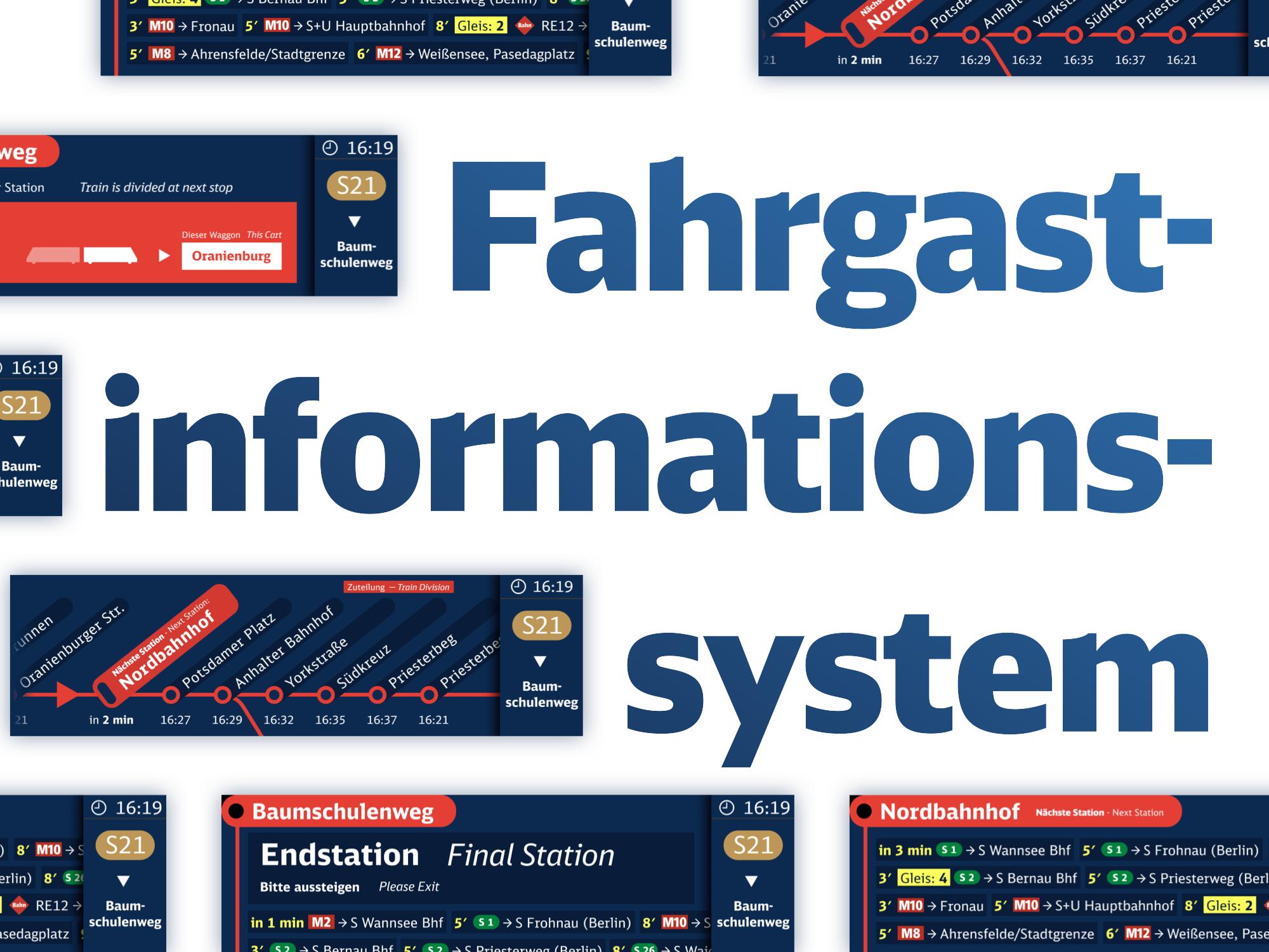 Ein Besseres Fahrgastinformationssystem
