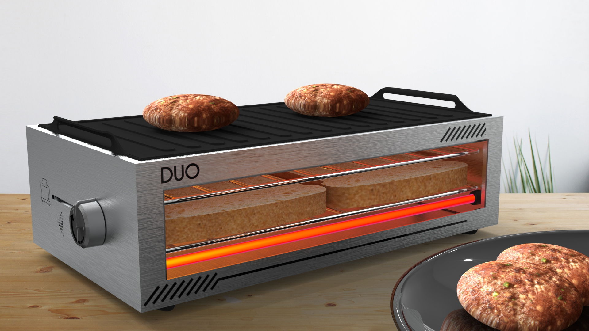 DUO - redesign eines Toasters