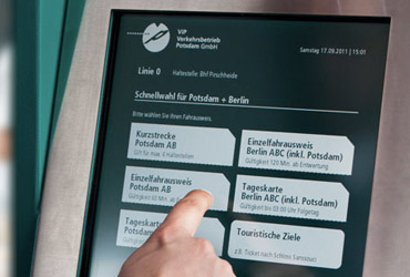Redesign des Fahrkartenautomaten-Interface