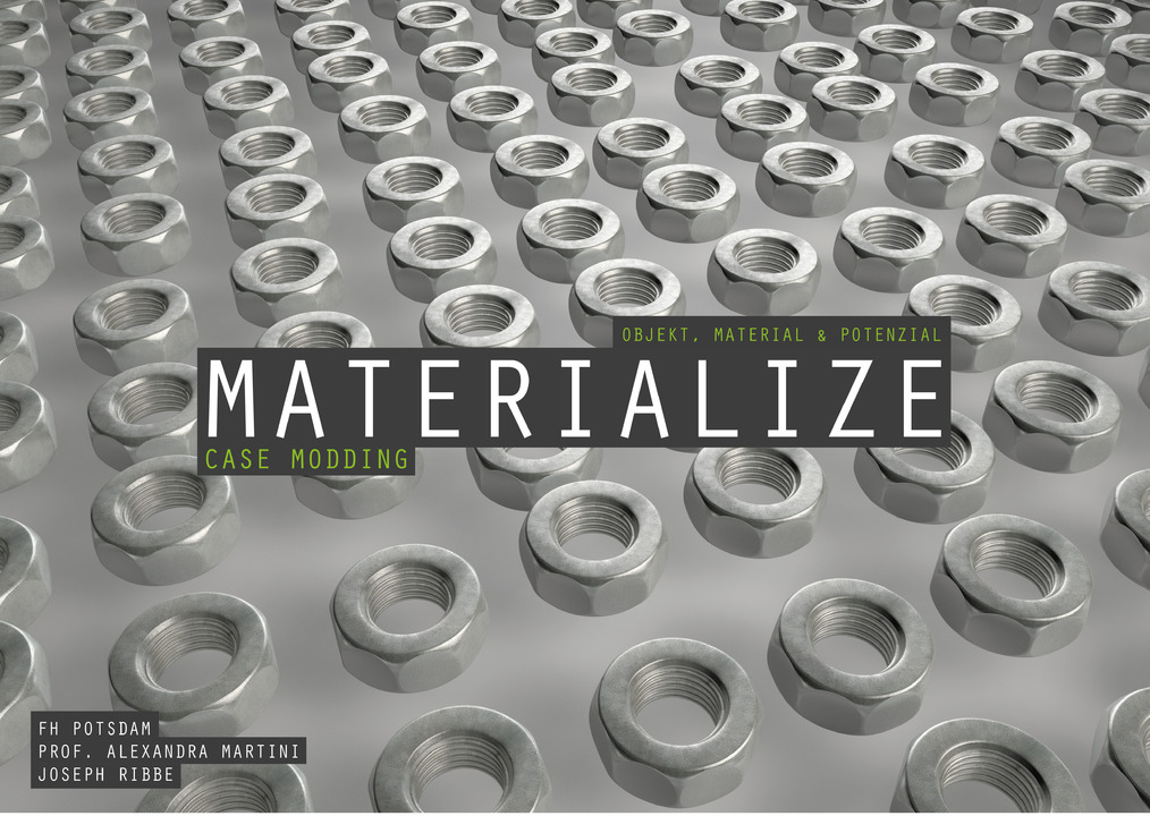 Materialstudie: Schraubenmutter
