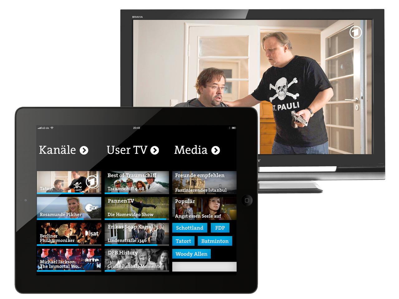 Nutzer-kuratiertes Fernsehen