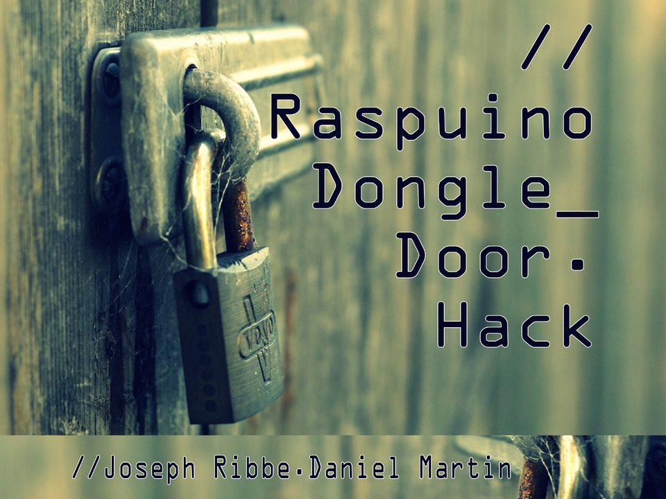 Projektwoche – IO Dongle Door Hack