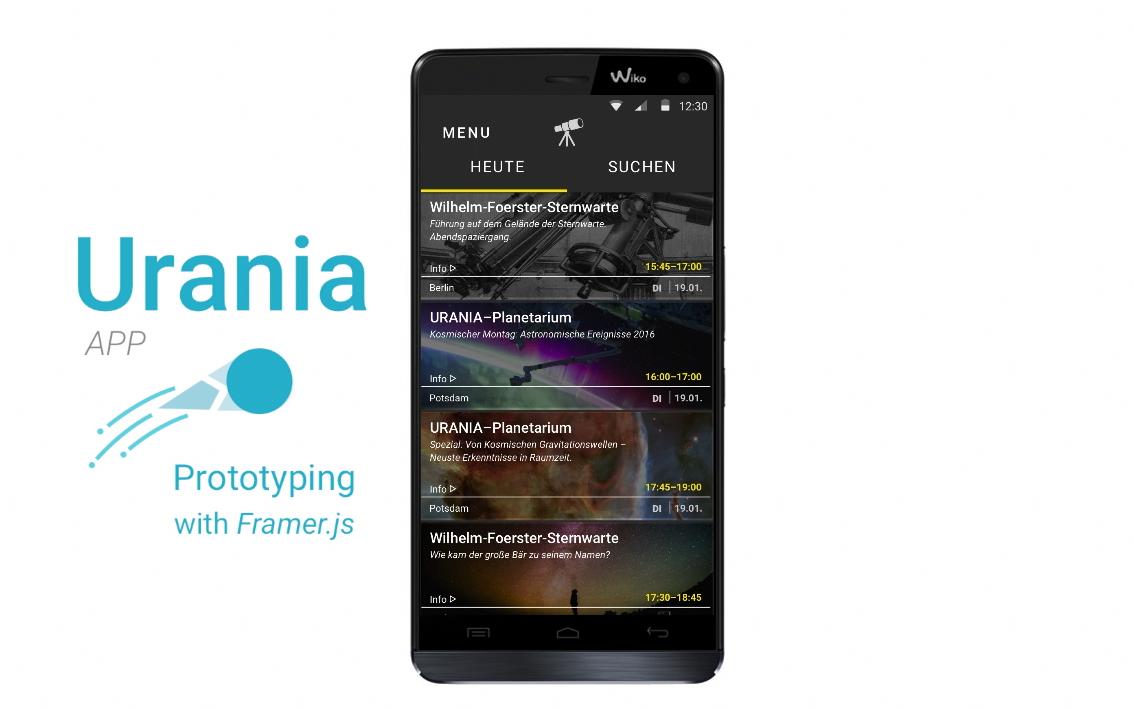 Urania Event App