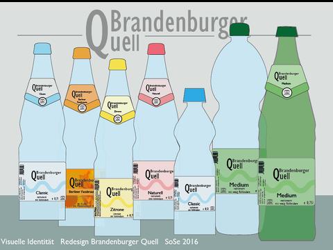 Corporate Design - Brandenburger Quell