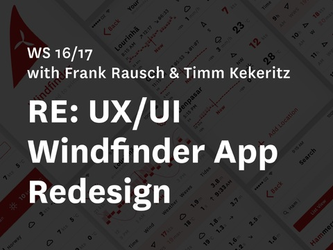 RE: UX/UI Redesign iOS Application