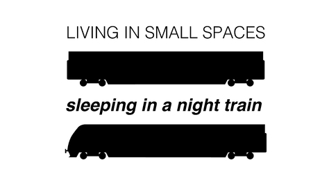 Living in Small Spaces - Sleeping in a Night Train