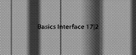 Basics Interface 17 2