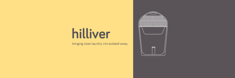 Hilliver • bringing clean laundry into isolated areas.