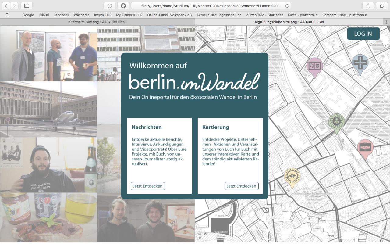 Redesign: berlin.imwandel.net