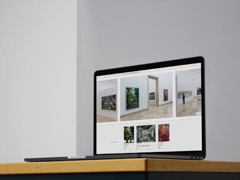 Bildbiografien. Ein Konzept zur interaktiven Exploration der Historie von Kunstwerken.