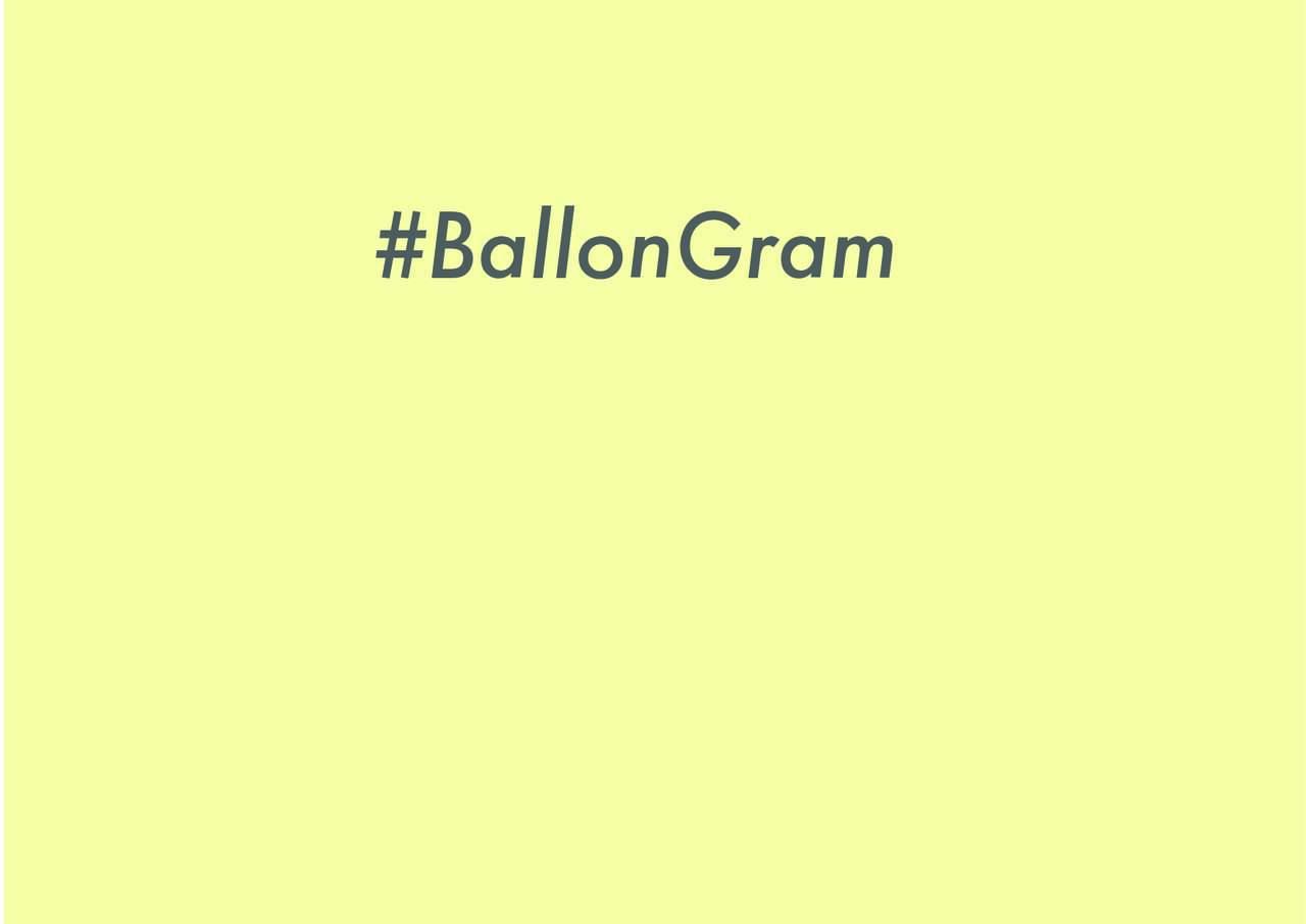 #BallonGram