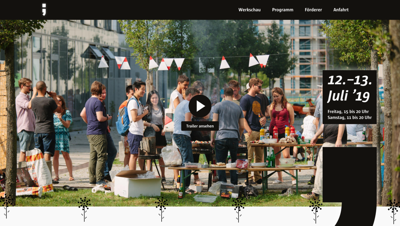 Make the Werkschau Website Great Again!