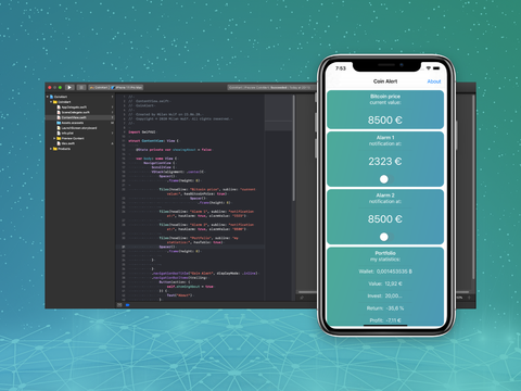 Design & Code   CoinAlert