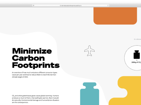 Minimize Carbon Footprints
