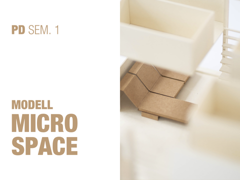 Micro Space im Modell