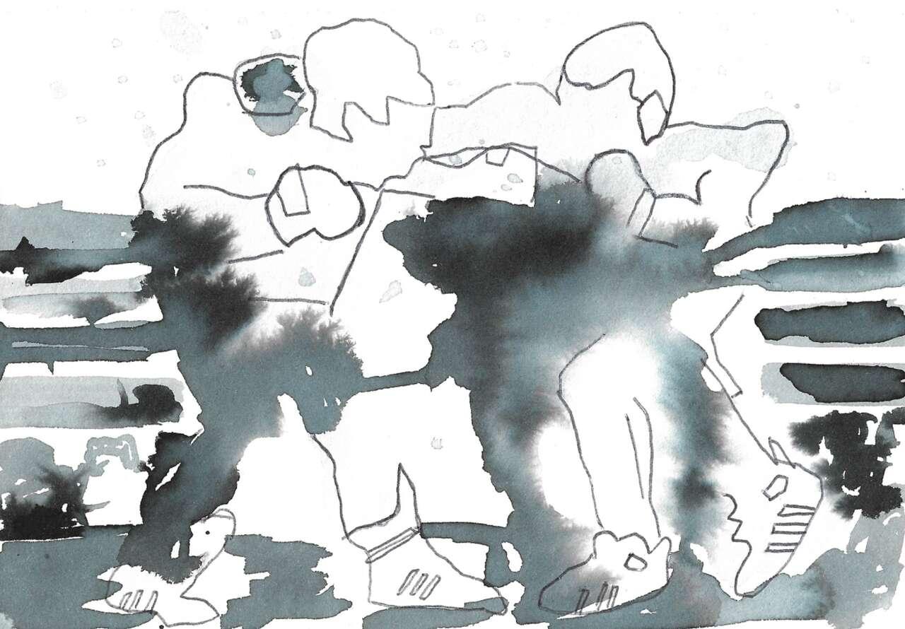Figur im Raum freitags (SS2021)