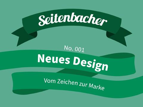 Seitenbacher Redesign Vom Zeichen zur Marke