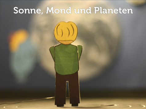 Sonne, Mond und Planeten - Ein interaktives Exponat für Kinder