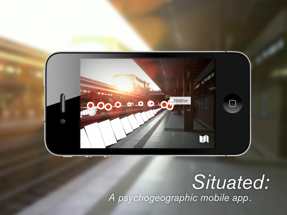 Situated: A psychogeographic mobile app.